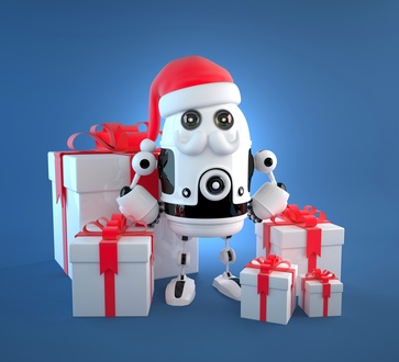 Santa's Little Helpers: Amazon's Robots