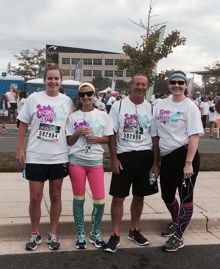 "We Participate! Color Vibe 5k supporting local charity ""I'm worth it"""