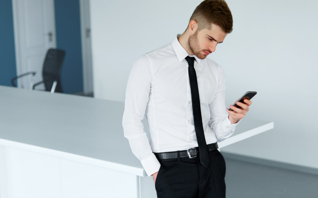 Your Cell Phone Is Zapping Your Self-Worth