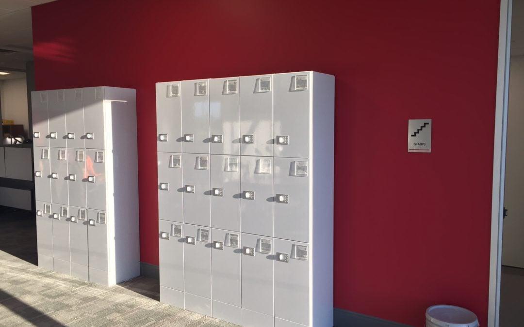Local Installation of Keyless Lockers
