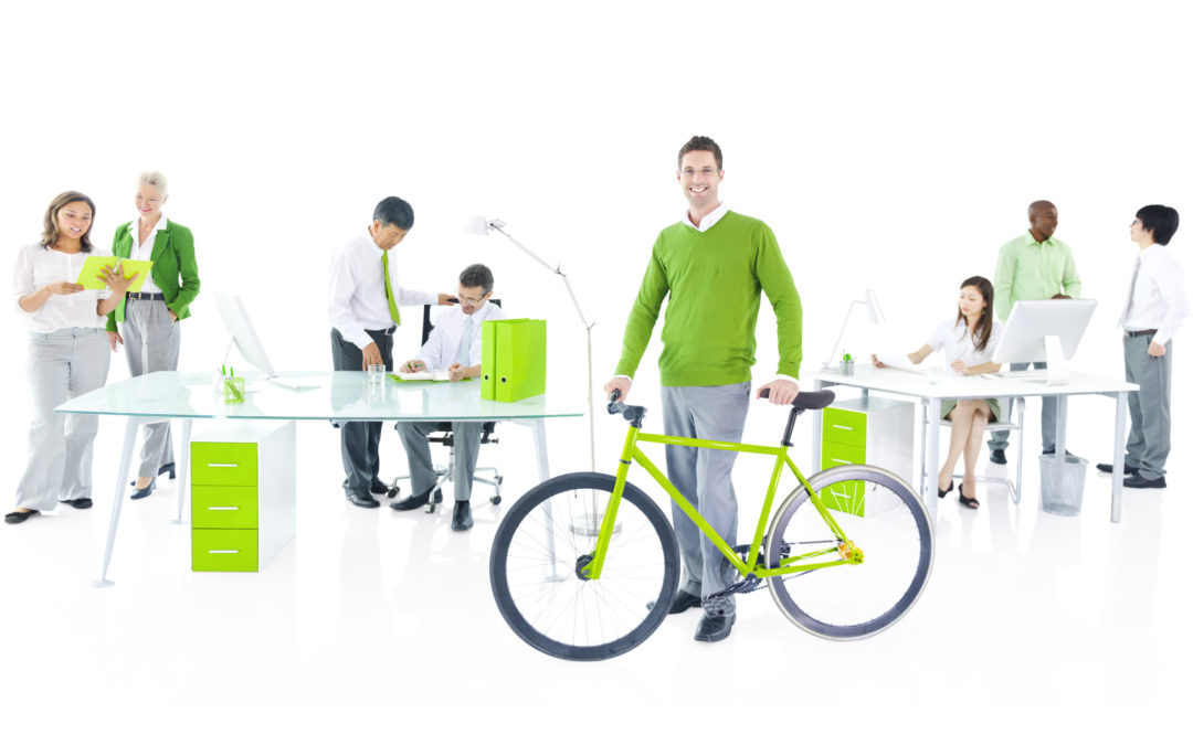 Greening Your Office? Provide Bike Storage